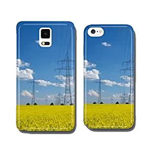 High-voltage line in the rape field cell phone cover case iPhone5