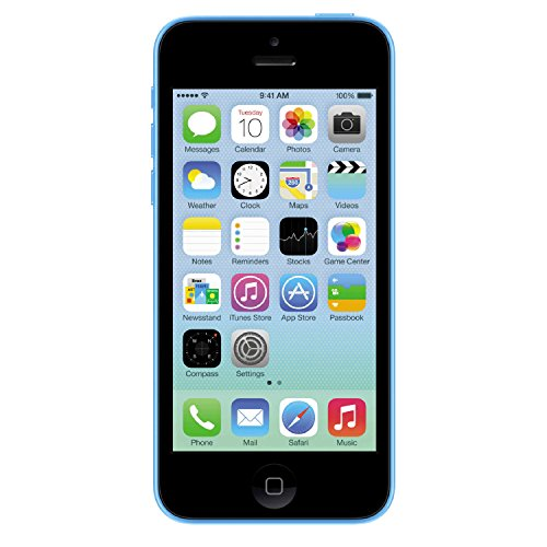 Wall Iphone 3g - Apple iPhone 5C Blue 16GB Unlocked GSM Smartphone (Renewed)