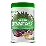 Genuine Health Greens+ O, Vegan Green Superfood Powder, Non GMO, Gluten Free, No