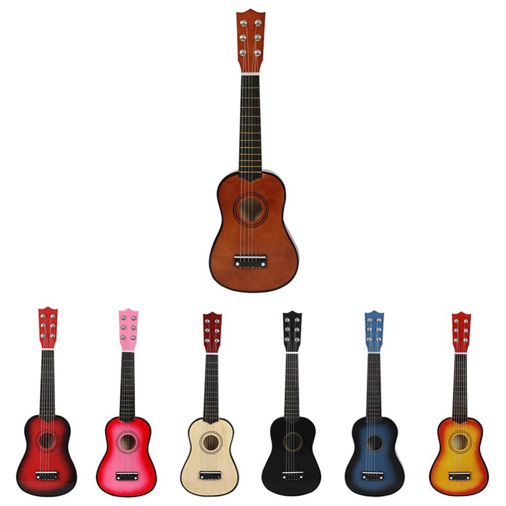Guitarra Guitarra Acústica De Madera De 21 Pulgadas Guitarra ...