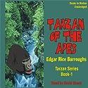 Tarzan Of The Apes: Tarzan Series, 1 Audiobook by Edgar Rice Burroughs Narrated by David Sharp