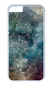 iPhone 6 Case,VUTTOO iPhone 6 Cover With Photo: Abstract Space For Apple iPhone 6 4.7Inch - PC White Hard Case