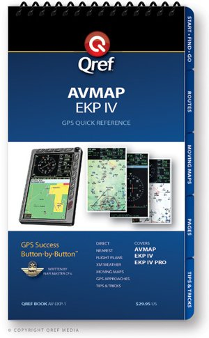 AvMap EKP Qref Checklist (Qref Avionics Quick Reference)