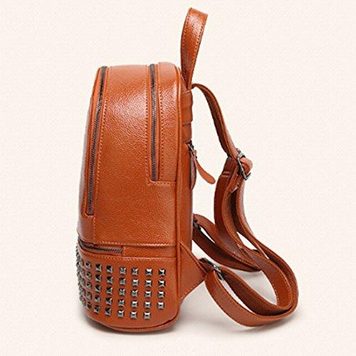 FOLLOWUS - Bolso mochila  para mujer, marrón (marrón) - G73035D negro