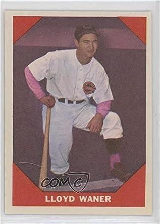 Amazoncom Lloyd Waner Baseball Card 1960 Fleer Base