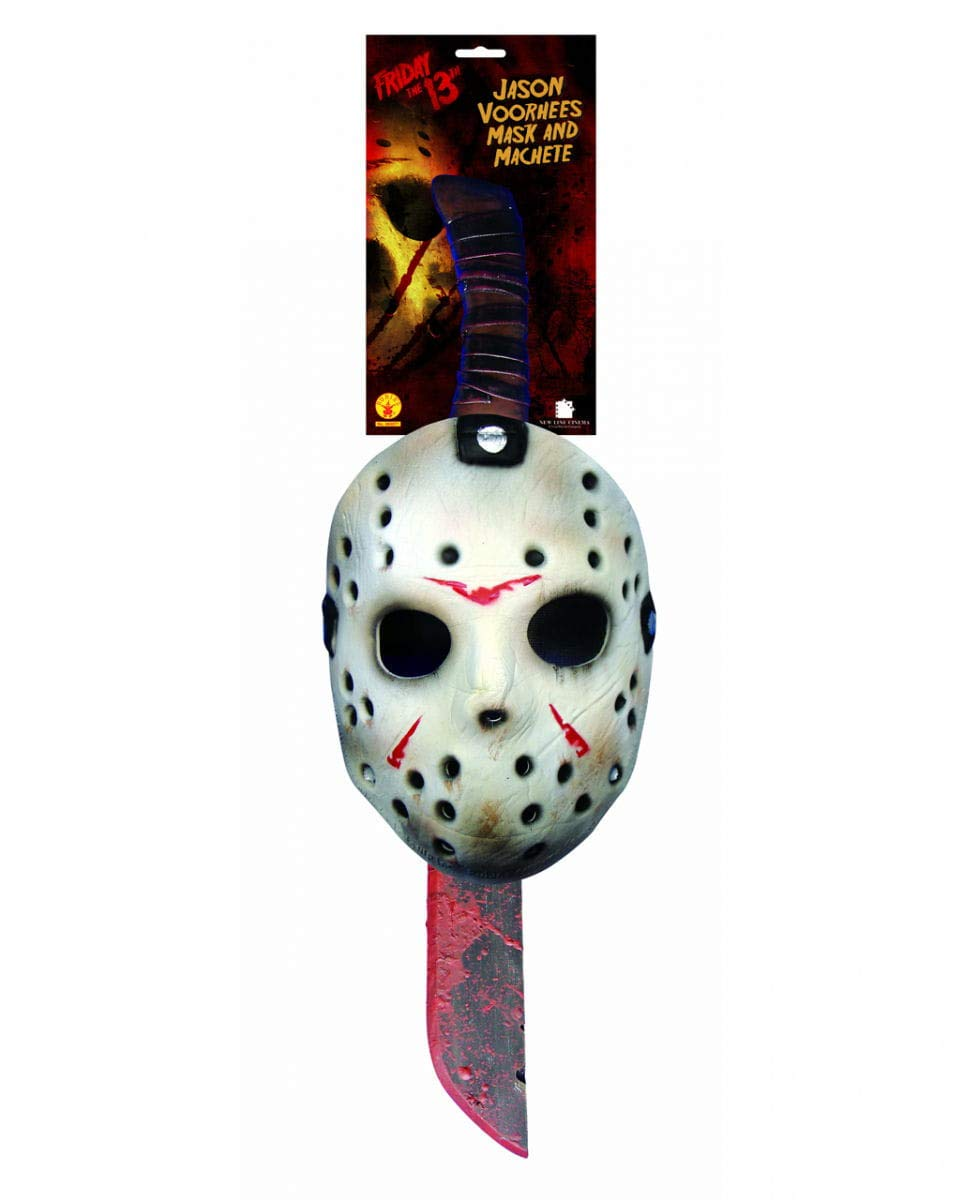 ca466dbf8509 Jason Machete e Mask Set: Amazon.it: Giochi e giocattoli