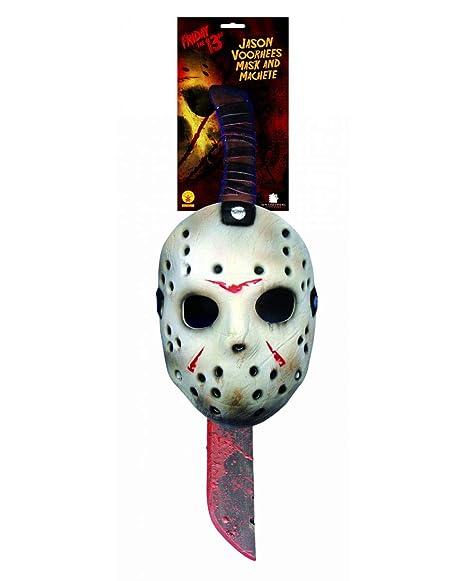 3d663f1f0a65 Jason Machete e Mask Set: Amazon.it: Giochi e giocattoli
