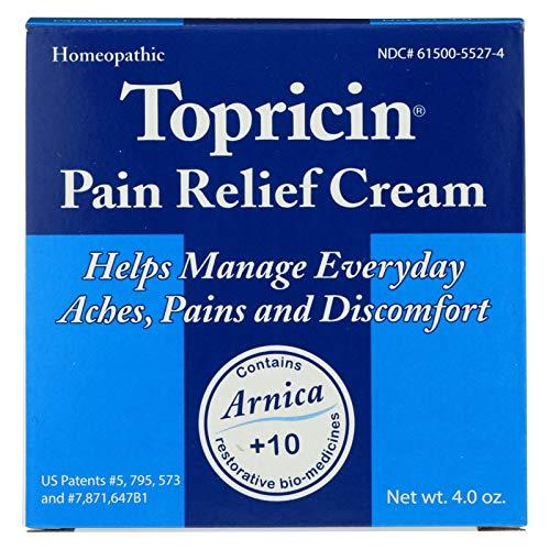 Topricin Pain Relief Cream 4 oz