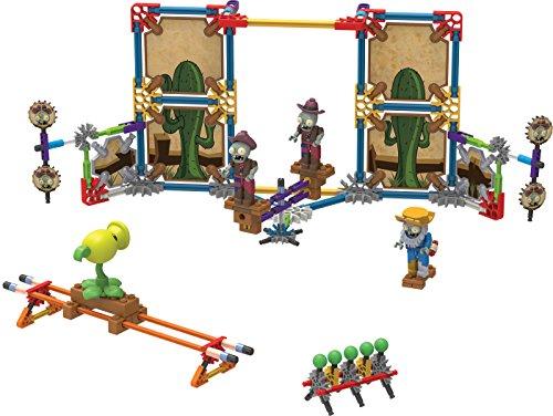 (K'NEX – Plants vs. Zombies Wild West Skirmish Building Set – 219 Pieces – Ages 5+ Construction Educational Toy)