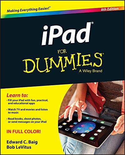 iPad for Dummies (8th 2015) [Baig & LeVitus]