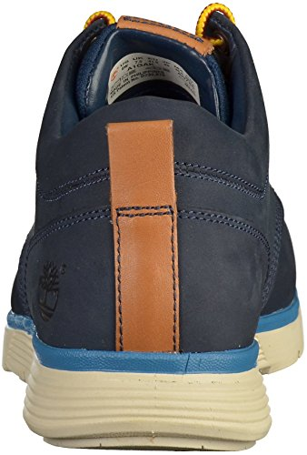 Timberland Mens Killington Half Cab Donker Rubber Lacce Up Shoe Zwart