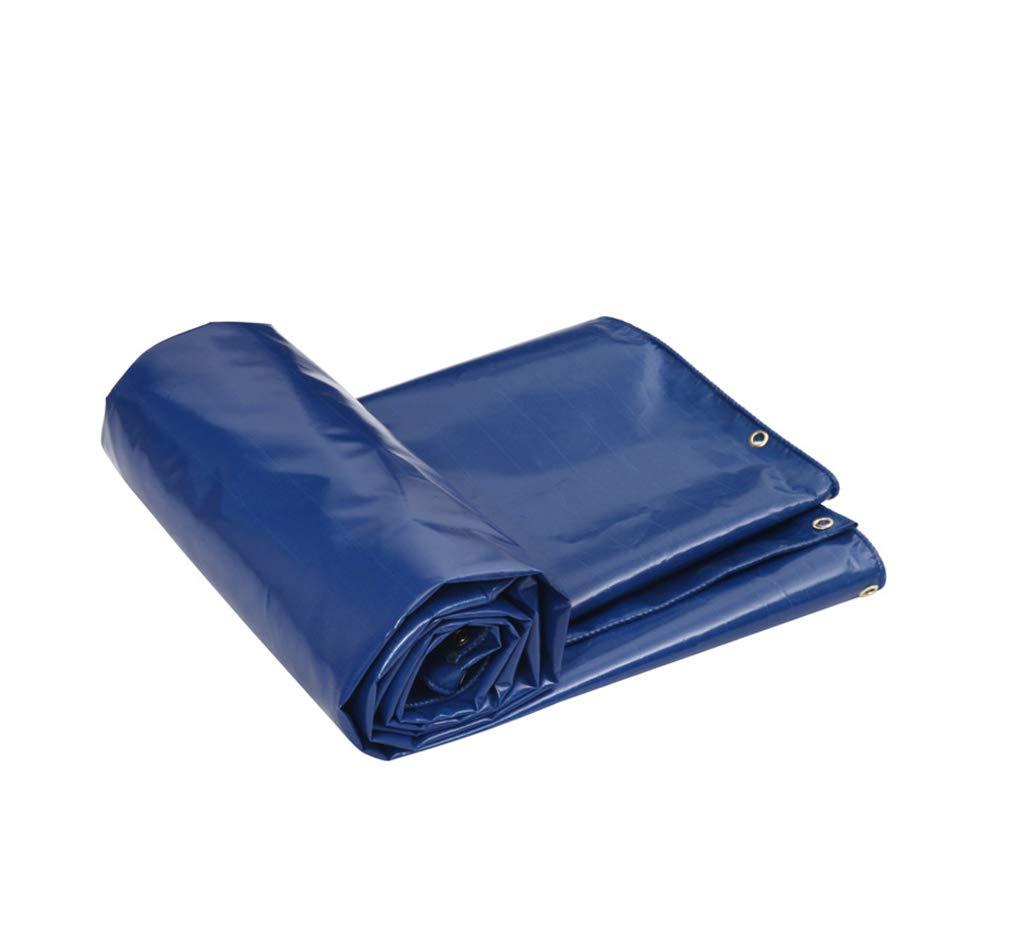 incentivi promozionali Ygh Tarps Tela Cerata Tessuta Spessa Spessa Spessa Impermeabile del Poncho per Il Campeggio all'aperto del Veicolo di Picnic di casa Tre Colorei facoltativi tarps (colore   Blu, Dimensioni   4  5m)  vendendo bene in tutto il mondo
