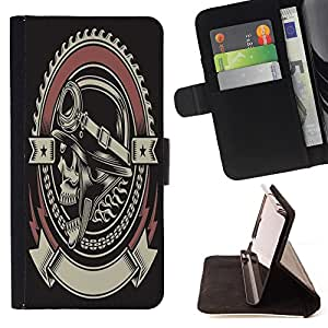 Dragon Case - FOR Samsung Galaxy S4 IV I9500 - Experience is the best teacher - Caja de la carpeta del caso en folio de cuero del tir¨®n de la cubierta protectora Shell