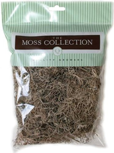 Natural Moss (Preserved Spanish Moss 108.5 Cubic Inches-Natural)