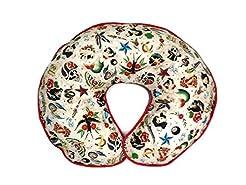Nursing Pillow Cover Tan Retro Biker Tat...