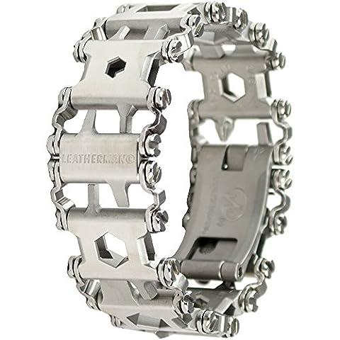 Leatherman - Tread Bracelet, The Travel Friendly Wearable Multi-Tool, Stainless Steel (FFP) - Modular Knife Sheath