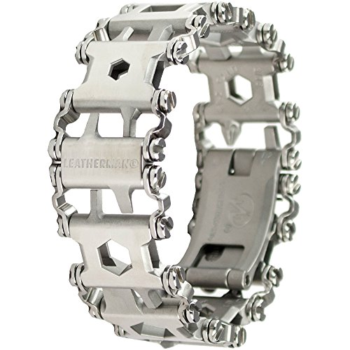 Leatherman - Tread Bracelet, The Travel Friendly Wearable Multi-Tool, Stainless Steel (FFP)