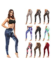 ZOOSIXX High Waisted Leggings for Women – Extra Soft Yoga Pants for Athletic, Workout