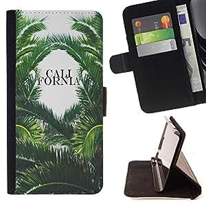 Super Marley Shop - Funda de piel cubierta de la carpeta Foilo con cierre magn¨¦tico FOR Sony Xperia Z2 L50t L50W L50U- Call Fornia