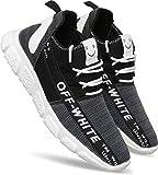 TrendWalk Ultra-Lightweight Sports,Running Shoes for Men/Boys(Black)