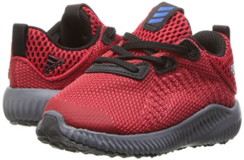 adidas Kids' Alphabounce Sneaker, Scarlet/Satellite/Black, 7 M US Toddler by adidas (Image #6)