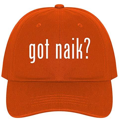 The Town Butler got Naik? - A Nice Comfortable Adjustable Dad Hat Cap, Orange (Best Of Zakir Naik)