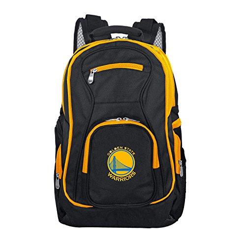 (NBA Golden State Warriors Colored Trim Premium Laptop Backpack)