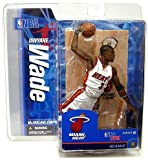 McFarlane Toys NBA Sports Picks Series 12 Action Figure Dwayne Wade 2 (Miami Heat) White Jersey