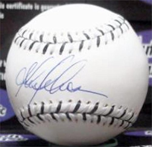 2003 All Star Baseball Ball - Autograph Warehouse 345180 Garret Anderson Signed Baseball from 2003 All Star Game - MVP California Angels