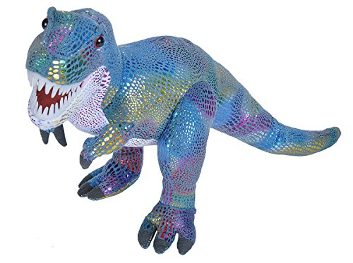 Wild Republic T-Rex Plush, Dinosaur Stuffed Animal, Plush Toy, Kids Gift, Glitter, 18.5 Inches