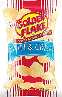 product image for Golden Flake Thin and Crispy Potato Chips 5 Ounce 4 Pack