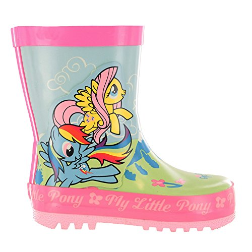 MLP Ashstead Pink floral Wellies Various Sizes