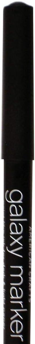 American Crafts GalaxyMarkerBulkMedTipBlack AMC Galaxy Marker Bulk Med Tip Black