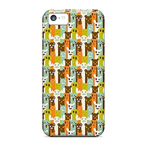 Durable Cases For The Iphone 5c- Eco-friendly Retail Packaging(animals Pattern)