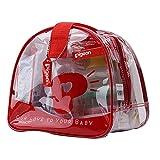 Piegeon Baby Red Bag Gift Set (Size 25 X 17 X 22 Cm.)