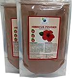 QYKKARE Premium Hibiscus Powder (100gm X 2) 100% Pure