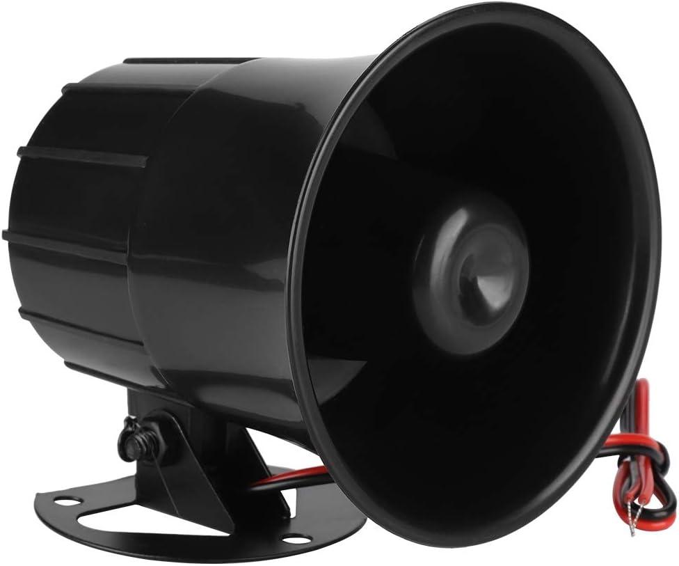 Auto Sirene Lautsprecher 12 V Hochtöner Hupe Sirene Fahrzeug Horn Für Home Security Schutzsystem Indoor Outdoor 110 Db Baumarkt