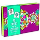 30 cartes pop-up à colorier et à créer