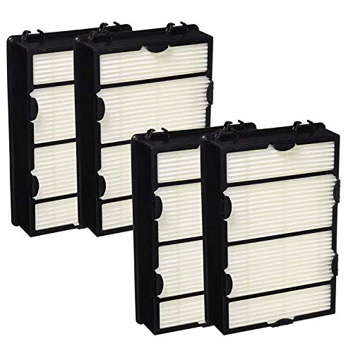 ECOMAID Replacement Holmes HAPF600D (B) Air Filters, 4packs for Holmes HAPF600, HAPF600D-U2 HEPA Air Allergy Filter True hepa Filter by ECOMAID