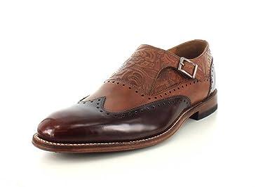 Stacy Adams Madison II Monk Strap Wingtip Loafer - Men's Size 9 D - Brown