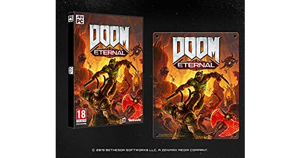 Doom Eternal - édition metal plate exclusive Amazon [Importación ...