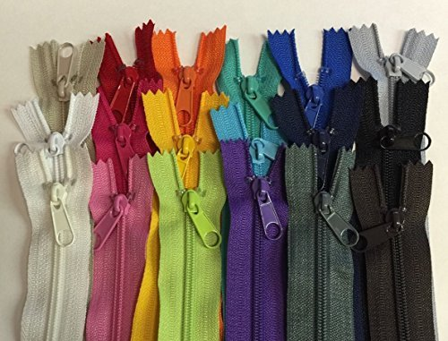 18 zippers for sewing - 6