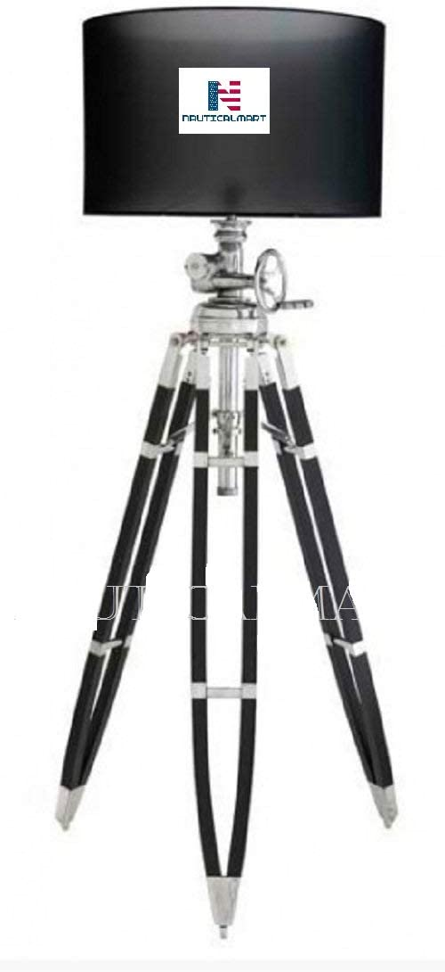 Nauticalmart Royal Marine Tripod Floor Lamp Vintage Studio Light Home Improvement