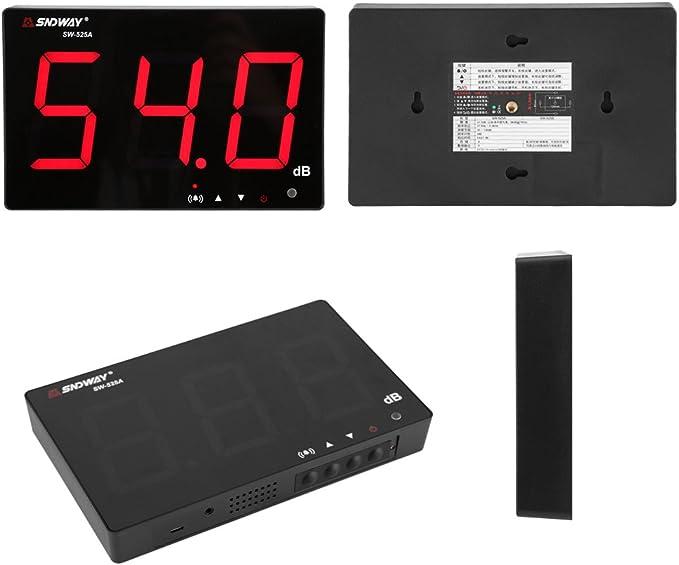 ShiSyan Y-LKUN 30-130dB LCD Digital Noise Detector Decibel Meter TL-202