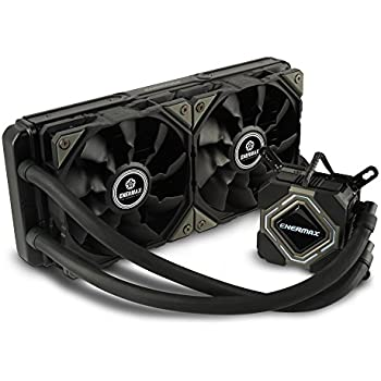 Enermax LIQMAX II 240mm High Performance Intel/AMD Liquid CPU Cooler, ELC-LMR240-BS