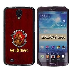 Stuss Case / Funda Carcasa protectora - Gryffindor - Samsung Galaxy Mega 6.3