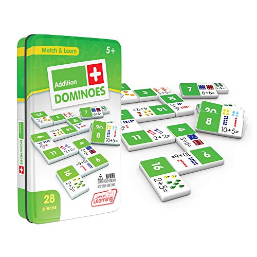 Junior Learning Addition Dominoes Educational Action Games