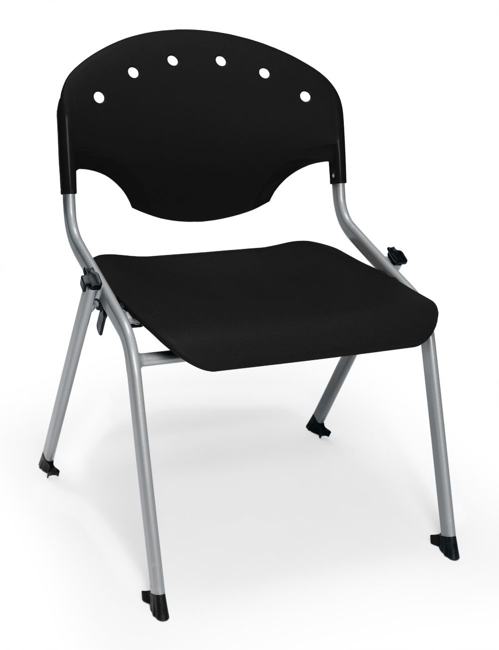 Student Chair 16''H Seat Silver/Black Dimensions: 22.25''W x 23.50''D x 29.75''H Weight: 11 lbs