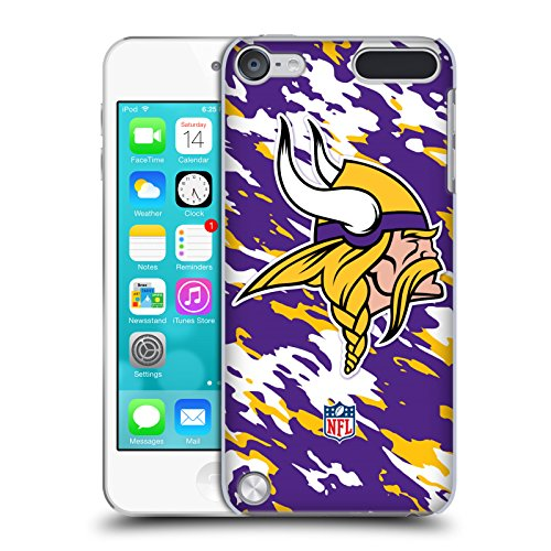 6g Ipod (Official NFL Camou Minnesota Vikings Logo Hard Back Case for iPod Touch 5th Gen / 6th Gen)