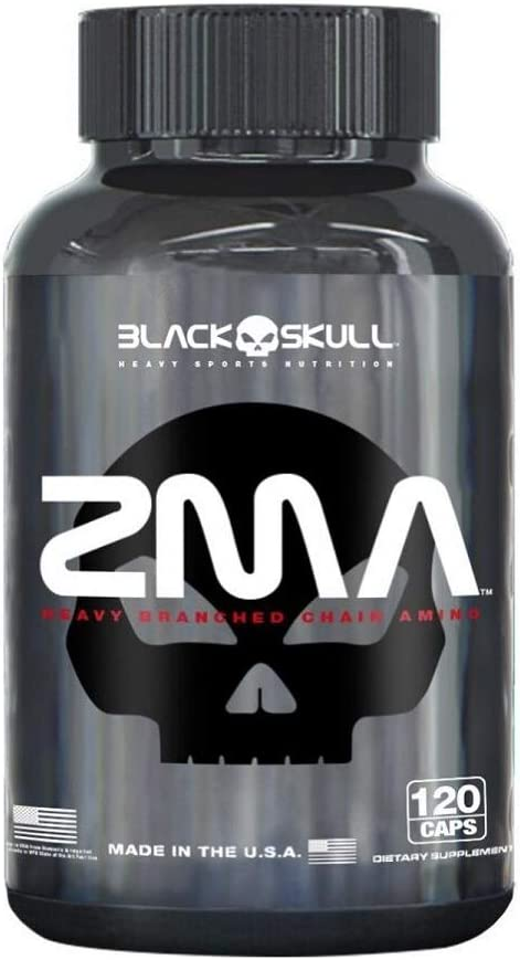 ZMA - Black Skull - 120 Cápsulas por Black Skull